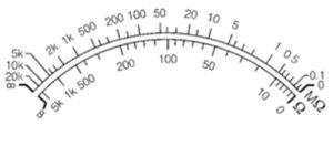 ohmmetre, elektriksel direnç