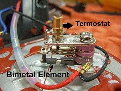 bimetal şerit ve termostat, ütü termostatı nasıl çalışır