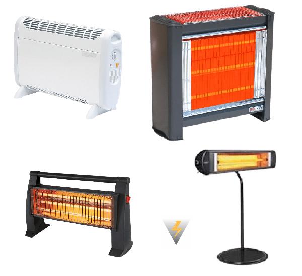 elektrikli ısıtıcılar