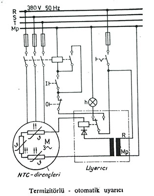 termistör rölesi , ntc direnç uyarıcıları