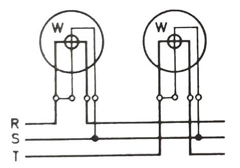 Çİft wattmetre yöntemi (Aron devresi)