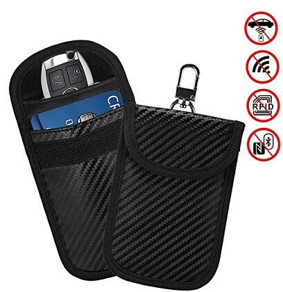 faraday kafesinden  araba anahtarı koruması