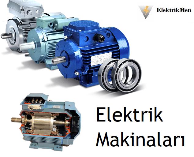 elektrik makinaları